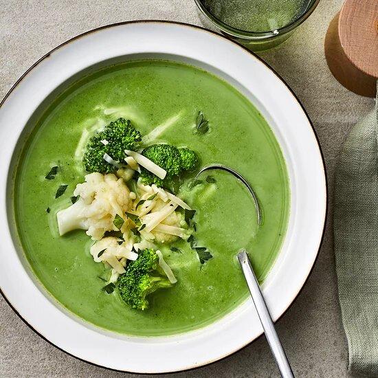 Овощной суп для похудения брокколи